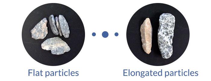 flat-elongated particles