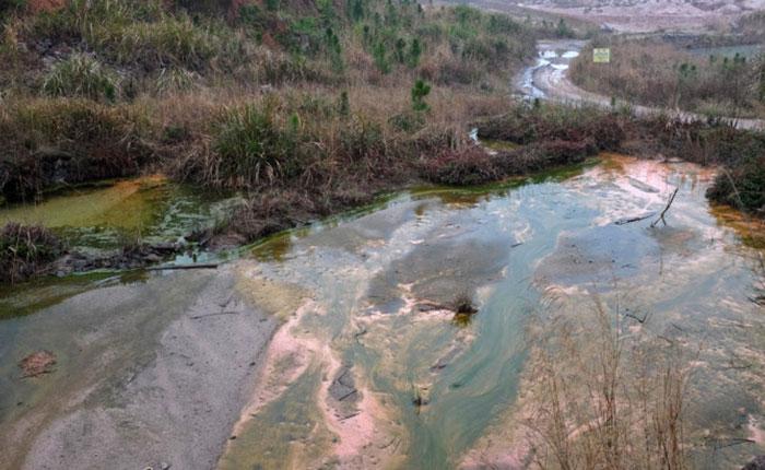mine pollution