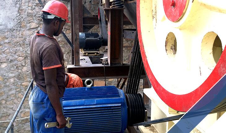 fixed rock crusher in Africa