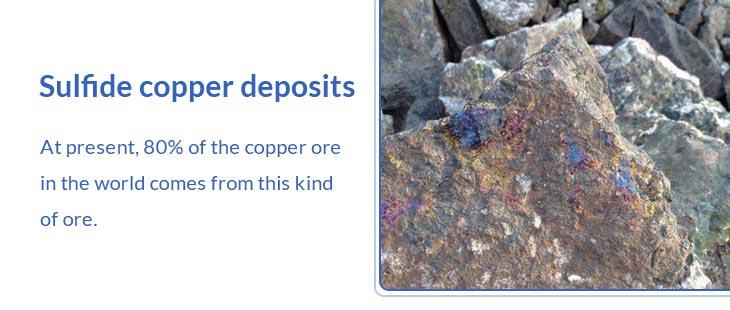 Sulfide copper concentrate