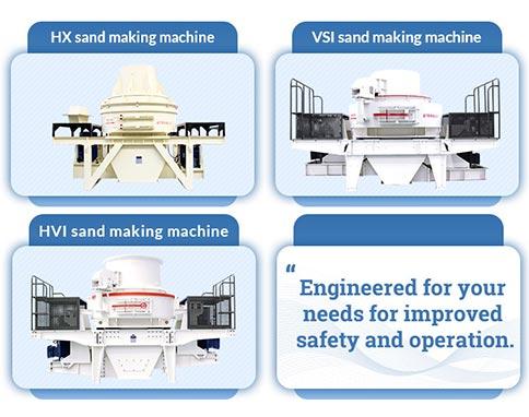 Sand making equipment