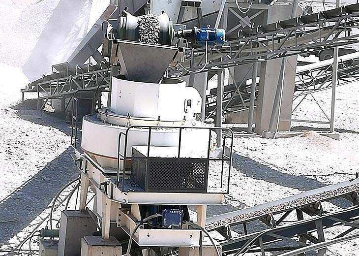 Sand machinery prodution spot