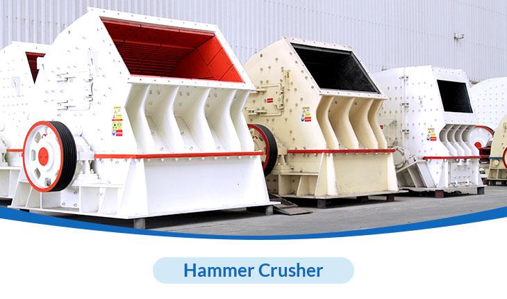HXJQ hammer crusher has many advantages to process limestone