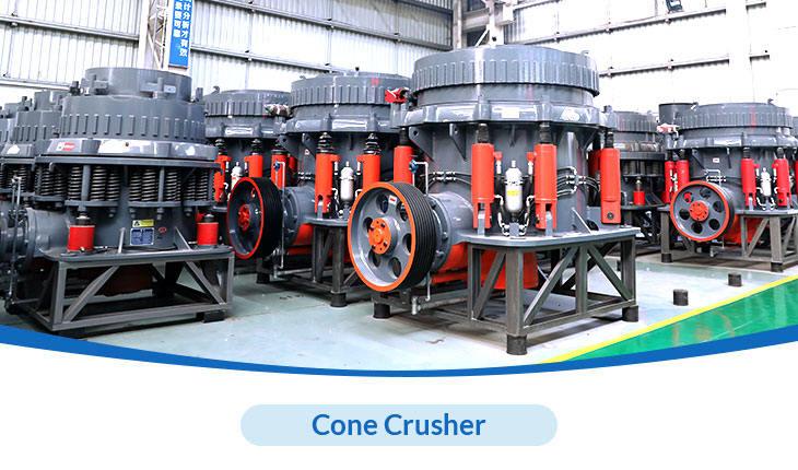 Hongxing Machinery hydraulic cone crusher