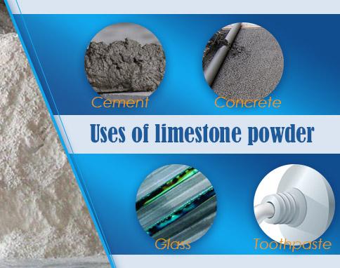 applications of limestone powder