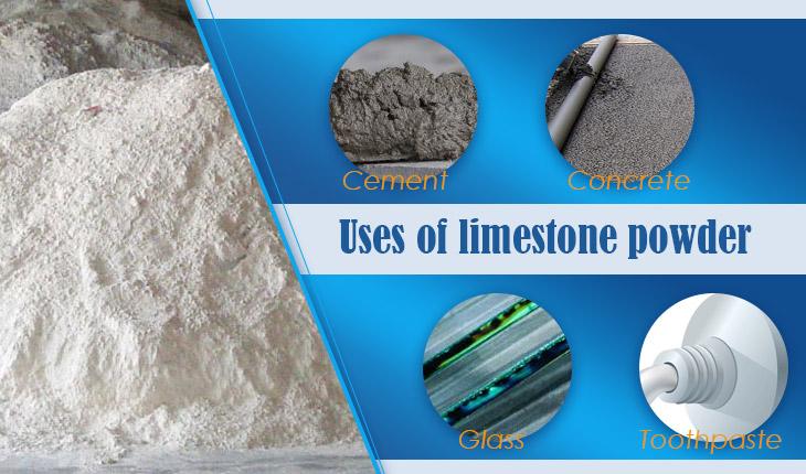 uses of limestone powder